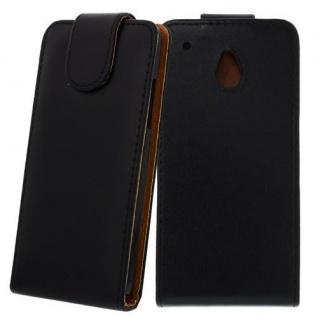 Für Sony Xperia SP / M35H Schwarz - Kunstleder Tasche, Handytasche, Case, Hülle,