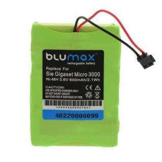 AKKU Accu Battery für Siemens Gigaset Micro 3000, SG E455 SIM Twin SG E455 BLUMAX