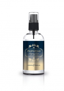 POPOPOO Toilettenspray Toilettenparfum Lemon Vanille gegen Toilettengerüche NEU!