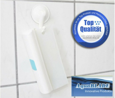 AquaBLADE Duschwischer Duschabzieher Silikonlippe beidseitig verwendbar ca. 20cm