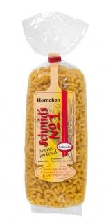 """Schmids No.1 geformte Nudeln 500g """" Hörnchen"""", vorzüglich im Geschmack"""