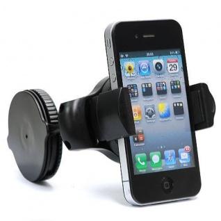 Universal KFZ Handy Smartphone Halterung Mini mit Saugknopf für Apple Samsung ..