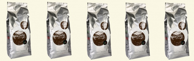 Mauri&Peppe Maxi Crema 5x 1000g Café Crème Kaffebohnen - Kaffee Coffee Kahve NEU