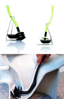 Mr.Sanitär spezial Toilettenbürste Klobürste Limettengrün WCGarnitur Silikonfrei