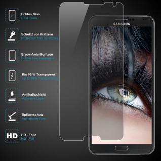 Premium Schutzglas für Samsung Galaxy Note 4, Echtes Glas, 0, 3mm, 99%transparent