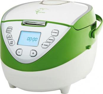 Loewe Multitalent Multikocher 900W 4L weiß/grün 21 Progr. Multivarka Multiwarka