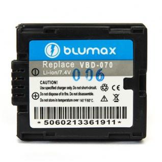 Akku accu battery für Panasonic Panasonic VBD-070 mit Li-Ion von Blumax neu