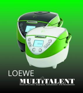 Loewe Multitalent Multikocher 900W 4L 21Progr. 110 Rezepte Multivarka Multiwarka - Vorschau 3