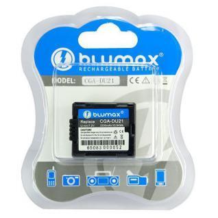 Akku accu battery für Panasonic CGA-DU21, Hitachi DZ-BP07P; DZ-BP07PW blumax