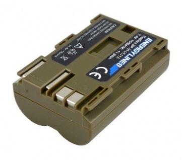 Akku Accu Battery Für Canon Bp-511/511a; Bp-508; Bp-511a; Bp-512; Bp-514 Energylines - Vorschau 2