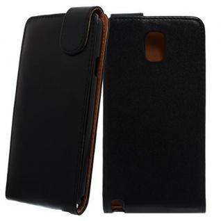 Für Samsung Galaxy Note 3 Schwarz Handytasche Case Cover Etui Cover Schutz Hülle