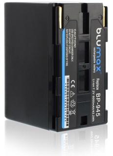 Akku accu battery für Canon BP-911 BP-911K BP-914 BP-915 BP-924 BP-925 blumax