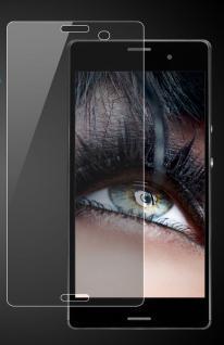 Premium Schutzglas 0, 3mm für Sony Xperia Z3 Echtes Glas, bis 99% transparent NEU