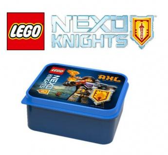 "LEGO Lunch Box "" Nexo Knights"" AXL Motiv Brotdose Vesperdose Lunchbox Pausenbrot"