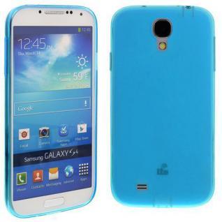 Silikon Case für Samsung Galaxy S4 / i9500 Türkis Etui Cover Bumper Schutz NEU