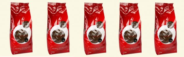 Mauri&Peppe Espresso 5x 1kg Kaffebohnen Kaffee Coffee Cappuccino Latte Macchiato