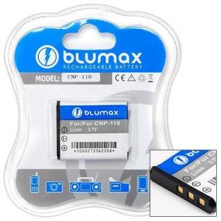 Akku accu battery für CASIO NP-110 mit Li-Ion und 850mAh von Blumax neu