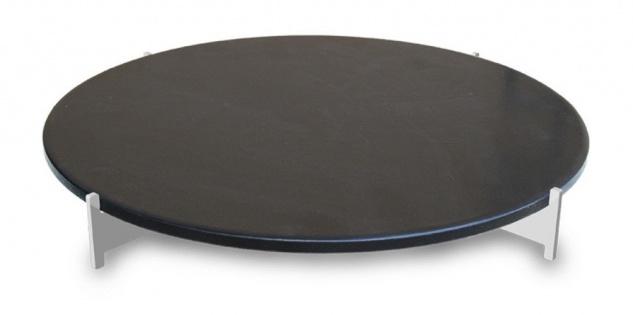 LotusGrill Pizzastein-Set XL für den raucharmen Holzkohlegrill / Tischgrill XL