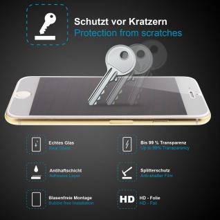 Premium Schutzglas für LG G2, Echtes Glas, 0, 3mm, 99% transparent, HD-Folie, NEU