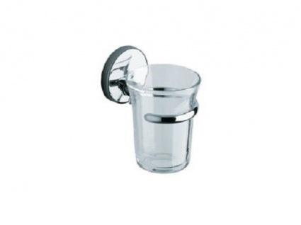 Vigour Clivia Glashalter mit Kristallglas, ideal für Zanbürsten und Zahnpasta!!