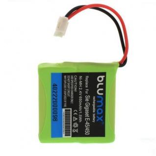AKKU Accu Battery für Siemens Gigaset E-455, E-455 SIM Twin, E-455 ECO BLUMAX!