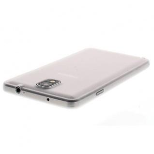 Für Samsung Galaxy Note 3 WEIß Slim TPU Case Cover Hülle Schale Schutzhülle NEU!