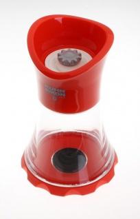 Kuhn Rikon Gewürzmühle Rot, einfache und stylische Aufbewahrung ihrer Gewürze!