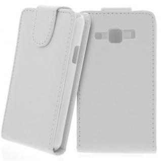 Für Samsung Galaxy Xcover GT-S5690 Handy Flip Case Tasche Hülle Schutz Weiss