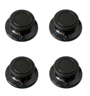 Universal 4x Deckelknopf m. Entlüftung für alle gängigen Pfannen/Topf/Glasdeckel