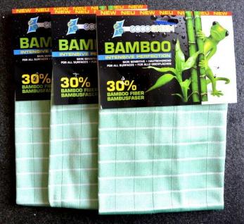 eccoGREEN 3x Bambus Intensivtücher Reinigungstuch Striefenfrei Antibakteriell