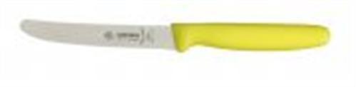 Giesser Messer Allzweckmesser 11 cm Klingenlänge mit Wellenschliff Limone 836511
