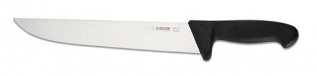 Giesser Messer Schlachtmesser 27cm Klinge breite Form Profimesser 400527 schwarz