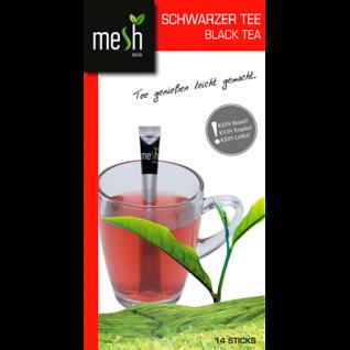 Mesh Stick Schwarzer Tee 14 Stück -Tropft nicht, mit Stick umrühren, tea, genuss