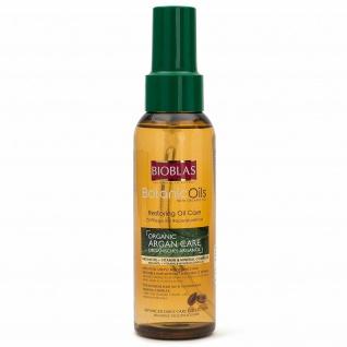 Bioblas Argan Care, organisches Arganöl für Haare mit Vitamin & Mineralkomplex