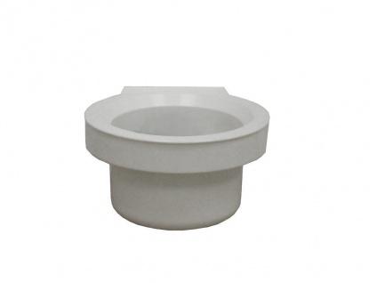 Wandhalterung (Weiß) für Mr. Sanitär WC-Reinigungsgerät Bad Toilette Accessoire
