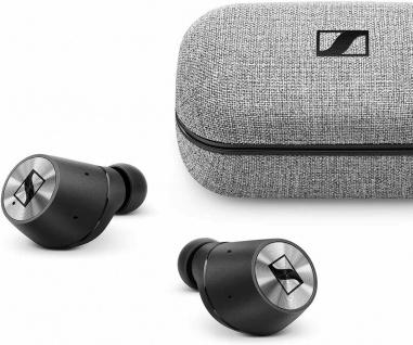 Sennheiser Momentum True Wireless Bluetooth Kopfhörer Schwarz Chrom