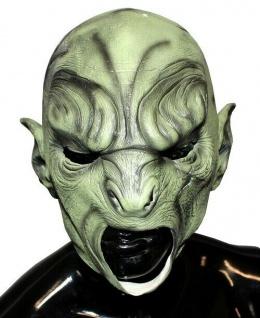 MKS Halloween Maske Kopf Über Dunkelelf Latex - Schön schaurig und gruselig