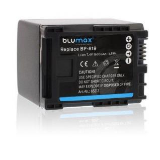 Akku accu battery für Canon BP-809; BP-819; BP-819D; HF10; HF100; HF11 HG20 neu