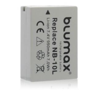 Akku accu battery für Canon NB-10L; G3X; PowerShot G1 X; PowerShot G15 blumax
