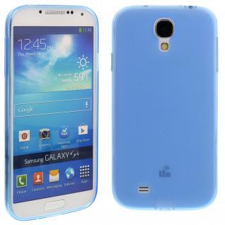Silikon Case für Samsung Galaxy S4 / i9500 Blau Etui Cover Bumper Schutz Neu!