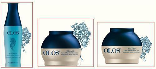 OLOS Thalasso Kosmetik Pflegeset Gesicht & Body Reinigungsgel Feuchtigkeitscreme