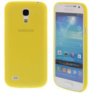 Für Samsung S4 mini /i9190 TPU Case/Cover/Bumper/Hülle/Farbe Gelb