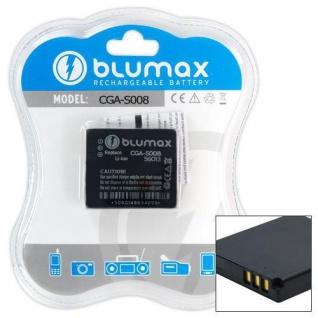 Akku accu battery für Panasonic SVME70 SVME75 Power Kamera Blumax neu