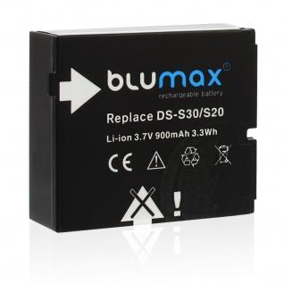 Akku accu battery für Rollei DS-S30/ SD20 mit Li-Ion von Blumax neu