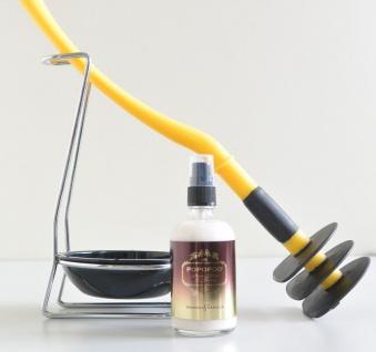 Mr Sanitär Gelb + + Zubehör+POPOPOO Toilettenspray Mango-Vanille Duft NEU!