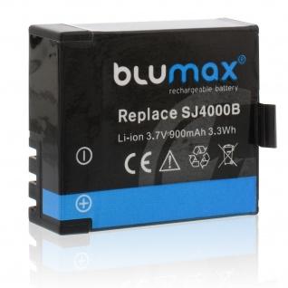 Akku accu battery für Qumox SJ4000 mit Li-Ion und 900mAh von Blumax neu