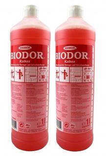 2x Biodor Kalkex 1 l mikrobiologischer Reiniger & Geruchsentferner Bad Haushalt