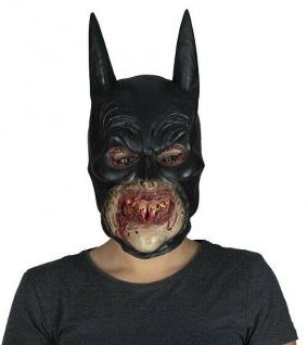 MKS Halloween Maske Kopf Über Zombie Batman Latex - Schön schaurig und gruselig