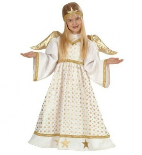 Engel Faschingsköstüm Kinderkostüm Mädchen, Größe 98 cm, 1-2 Jahre