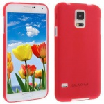 Für Samsung S5 i9600 ROT Slim TPU Case Cover Hülle Schale Schutzhülle Dünn NEU!!